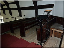 TM4160 : St Mary Magdalene, Friston: pews in the balcony by Basher Eyre