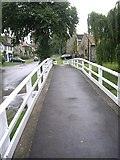 NZ2308 : Marygate from the Barton Beck footbridge by Stanley Howe