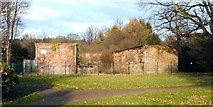 NS3978 : Remains of stables and coach house by Lairich Rig