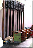 TL8683 : St Peter's church in Thetford - rood screen by Evelyn Simak