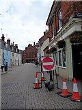 SY6778 : Corner of Cove Row, Weymouth, Dorset by Christine Matthews