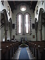 NY7064 : The Church of the Holy Cross, Haltwhistle - nave by Mike Quinn