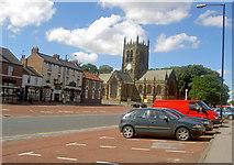 SE3694 : All Saints Parish Church Northallerton by Steve  Fareham