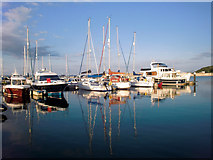 SY6874 : Portland Marina, Dorset by Christine Matthews