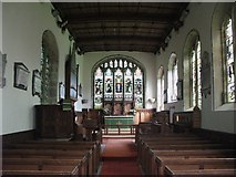 NY7863 : St. Cuthbert's Church, Beltingham - interior by Mike Quinn