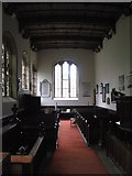 NY7863 : St. Cuthbert's Church, Beltingham - interior (2) by Mike Quinn