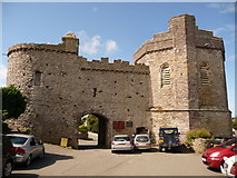 SM7525 : St. David's: Porth y Tŵr by Chris Downer