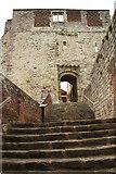 SU8347 : Farnham Castle keep by Richard Croft