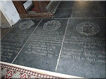 TM3669 : St Peter, Sibton- floor memorial (4) by Basher Eyre