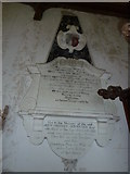 TM3669 : St Peter, Sibton- memorial (5) by Basher Eyre