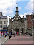 SU8604 : Market Cross from West Street by David Dixon