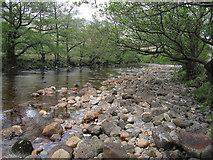 NN1435 : River Kinglass by Hugh Venables