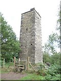 SK2563 : Stanton Moor Tower by Neil Packwood