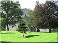 NY8362 : Langley Castle Hotel by Alex McGregor
