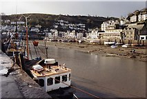 SX2553 : Looking towards West Looe from East Looe Quay by David Gearing