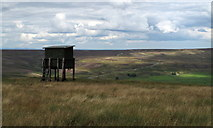 NY9141 : Wildlife Watching Hide on Windy Hill by Trevor Littlewood