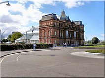 NS6064 : People's Palace And Winter Gardens, Glasgow Green by David Dixon