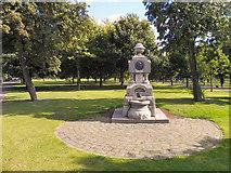 NS5964 : Glasgow Green, Hugh Macdonald Fountain by David Dixon