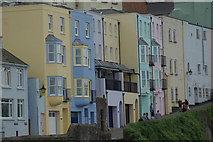 SN1300 : Crackwell Street, Tenby by Stephen McKay
