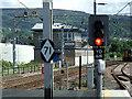 NS3975 : Dumbarton signal box by Thomas Nugent