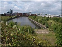 SJ8196 : Pomona Dock no 3 by Derek Harper