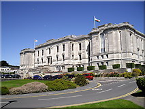 SN5981 : The National Library of Wales, Aberystwyth by John Lord