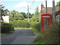 SO4387 : The village telephone box by Row17