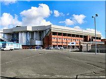 NS5564 : Ibrox Stadium, Broomloan Road Stand by David Dixon