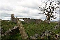 SK1482 : Ruined cottage, nr. Castleton, Derbyshire by Graham Hogg