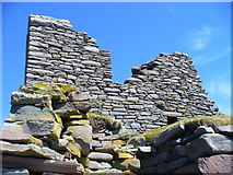 HU3909 : Old Stones, Jarlshof by Colin Smith