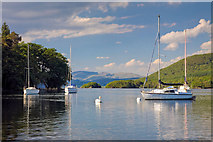 SD2890 : Coniston South Moorings by George Hopkins