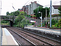 NS4362 : Johnstone railway station by Thomas Nugent