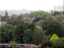SK5639 : View over The Park Estate from Castle Rock by John Sutton