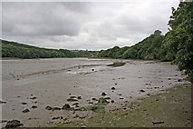 SW8243 : Calenick Creek at low tide by Graham Loveland