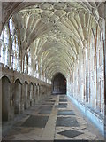 SO8318 : The Cloisters, Gloucester Cathedral by Eirian Evans