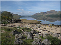 NN0838 : Loch Etive by Hugh Venables