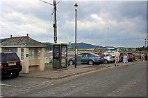 NX8354 : Bus Shelter and Telephone Box, Kippford by Mick Garratt