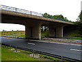 NZ4511 : Bridge taking Yarm Road over the A19 by Graham Scarborough