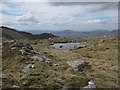 NN1241 : Small pool in the col by Hugh Venables
