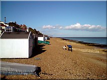 TM3034 : Beach Huts By The Spa Pavilion by Tim Marchant