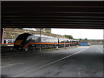 SE1632 : Grand Central Train stabled at Bradford Interchange by Stephen Armstrong