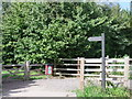 TL7320 : Public footpath sign in Great Notley by PAUL FARMER