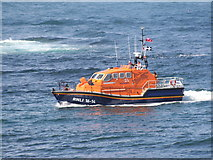 SW3526 : The Sennen Cove lifeboat 'City of London III' by Rod Allday
