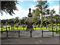 SD6506 : Westhoughton Cemetery - Pit Memorial by David Dixon