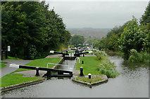 SO9186 : Delph Locks near Brierley Hill, Dudley by Roger  Kidd