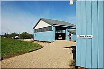 TG4419 : New Boatyard building at Martham Ferry by Greg Aspland