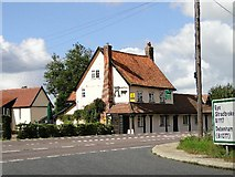 TM1172 : The Auberge Bull on the A140 by Adrian S Pye