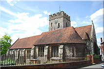 SU9949 : St Mary's Church, Quarry St by N Chadwick