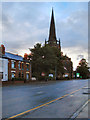 SJ9088 : Buxton Road, St George's Church by David Dixon