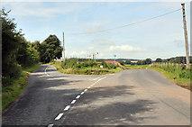 NS8739 : Road junction near Wellshields by Steven Brown